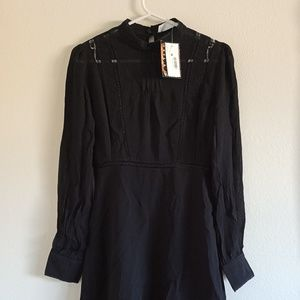 Astr  Casual Fit & Flare Dress Small (NWT)